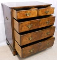 Titchmarsh & Goodwin Walnut Chest of Drawers - SOLD